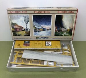 HO SCALE 50' FGE INSULATED BOX CAR UNION PAC 490700 WALTHERS 932-4753 - NOS MIB