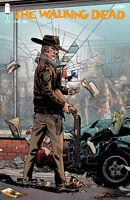 WALKING DEAD #1 15TH ANNIVERSARY STEWART VARIANT IMAGE COMICS ADLARD
