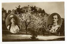 AK zu Festpostkarte Zum Einzug Herzogin Victoria Luise 16 Mai 1914 Blankenburg