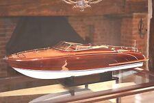 Riva Rama Aquarama 90cm Top Quality Handmade Wooden Display / RC Model Speedboat