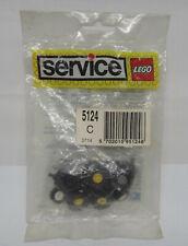 Lego Service Tüte Set 5124 C Reifen und Achsen 4600 6157 3641 .... NEU