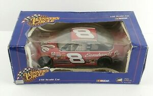 2002 Nascar Winner's Circle Dale Earnhardt Jr # 8 Red Chevy Diecast 1/18 Scale