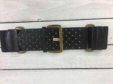 Unbranded Faux Leather Argyle, Diamond Wide Belts for Women
