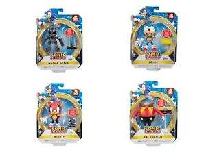 """Sonic The Hedgehog 30th Anniversary 4"""" Figures - Choose Your Character Free P&P"""
