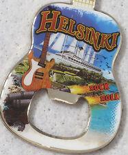 HARD ROCK CAFE  ***HELSINKI*** CITY GUITAR BOTTLE OPENER MAGNET- AWESOME!!