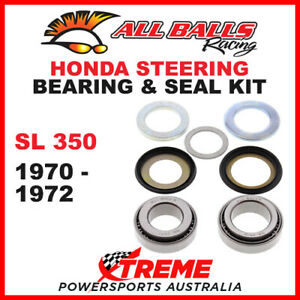 22-1011 Honda SL350 SL 350 1970-1972 Steering Head Stem Bearing & Seal Kit