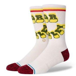 Stance x Bob Marley Socks 'Nine Mile' | Size L | Crew Height | New With Tags