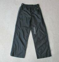 NEW Ralph Lauren Polo Windbreaker Pants Youth Small Gray Pony Warm Up Kids Boys