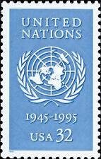 1995 32c United Nations, 50th Anniversary Scott 2974 Mint F/VF NH