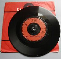 The Jam - All Around The World UK Polydor 1977 Red Plastic Label 7""