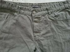 French Connection Chino Jeans Khaki green Trousers Waist 36