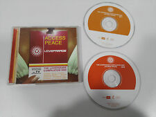 ACCES PEACE LOVEPARADE COMPILATION - 2 X CD 2002 SPANISH EDITION BLANCO Y NEGRO