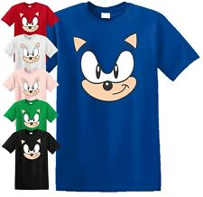 Sonic the Hedgehog T Shirt Mens Kids Birthday Present Gift Top