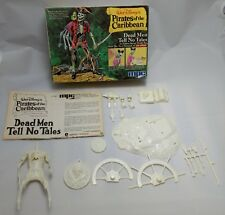 "MPC PIRATES of the CARIBBEAN ""Dead Men Tell No Tales"" model kit 1972 disney"
