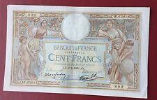 100 francs LOM 1939