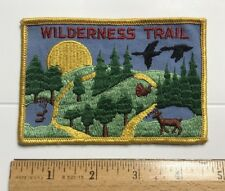Wilderness Trail BSA Boy Scouts Embroidered Patch