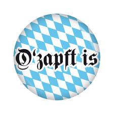 Kiwikatze® Volksfest: O'zapft is Button 37mm Oktoberfest Wiesn