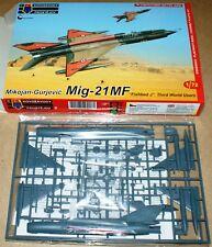 Mig-21mf Fishbed J 3rd World Users (4x Camo) en 1/72 de KPM