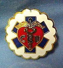 CCU Lapel Pin Coronary Care Unit Critical Care Unit Professional Medical Emblem