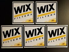 5 NASCAR Race Car Auto Racing Wix Decal Vintage Sticker Tool Box Rod Man Cave