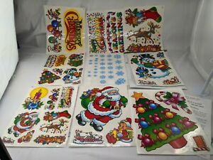 Super Signs Inc Christmas Static Cling Window Kit
