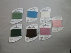 Rainbow Gallery Splendor Lot of 7 12 Ply Silk Assorted Colors  F112