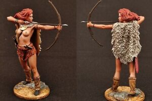 painted plastic toy soldiers 75mm Fantasy Worlds Venus Paleolithic