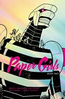 Paper Girls Deluxe Hardcover Volume 2 GN Brian K Vaughan Saga Y Last Man New NM