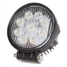 Foco de LEDs 27W 9-33VDC IP68 Luz Cree De Trabajo Redondo barco  JEEP 4x4 Spot