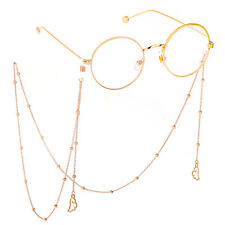 Gold Wing Glasses Neck Chain Strap Spectacle Eyeglasses Sunglasses Cord Holder