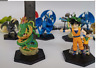10PCS/set Different Dragon Ball Cartoon Action Figures 6-7cm Capsule Toys Gift O
