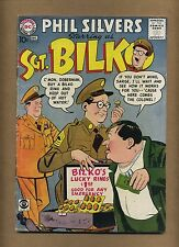 Sergeant Bilko 10 (GVG) DC 1958 Phil Silvers TV armed forces humor (c#11510)