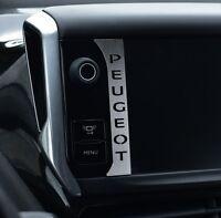 PLAQUE PEUGEOT 208 2008 GTI E-HDI HDI STT ALLURE ACTIVE ACCESS VTI TURBO SPORT