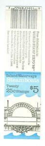 1989 US stamp booklet: Steamboats, Steamships; BK166; MNH& OG; FV=$5, CV=$12
