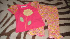 BOUTIQUE BABY LULU 12M 12 MONTHS FLOWER SHIRT PANT SET LUCINDA
