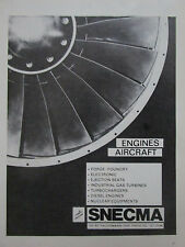 8/73 PUB SNECMA AIRCRAFT ENGINES FORGE FOUNDRY ELECTRONIC NUCLEAR EQUIPMENT AD