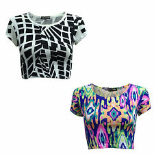 Scoop Neck Cap Sleeve Semi Fitted Tops & Shirts for Women