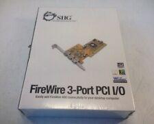 SIIG DP FireWire 400 3-port  PCIe Card Model NN-300012