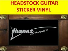 IBANEZ UNIVERSE SILVER SEVEN STRINGS STICKER VISIT OUR STORE WITH MORE MODELS