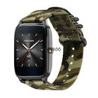 """Durable Military Nylon Watch Band Strap Bracelet For ASUS Zenwatch2 1.63"""" 1.45"""""""
