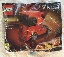 LEGO 30191 SHELL V POWER SCUDERIA FERRARI HGV TRUCK POLYBAG