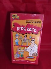 Kids Rock: Silly Songs and Cartoons With A Conscience (VHS, clamshell) ..new