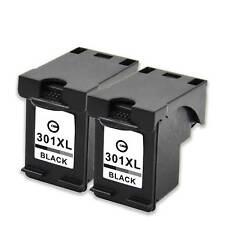 2 Drucker Patronen für HP 301XL Schwarz Envy 5530 4503 4504 4502 4507 4508 Tinte