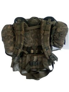 MOLLE II ACU Large Rucksack Field Pack Complete w/ Frame US Military Army GC