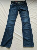 """AG Jeans Adriano Goldschmied The Angel Medium Wash Bootcut Size 27R 34"""" Inseam"""