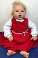 "19"" Lee Middleton Limited Dolls Reva Schick Redressed Adorable Blonde Baby"