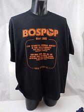 BOSPOP ROCK FESTIVAL T shirt  Netherland ZZ top INXS ECT 2003 XXL   T33Q