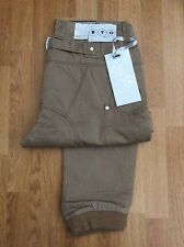 MENS ETO 9901 CUFFED CHINOS IN STONE BEIGE SIZE W28  L32