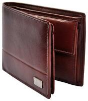 AM LEATHER Brown Men's Wallet - 100% Genuine - Free Shipping