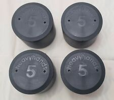 Heavyhands Dumbell Weights Screw Add On 5lbs (4 Weights)